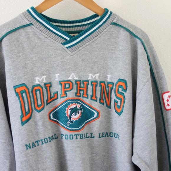30f4f680 Vintage Miami Dolphins Sweatshirt